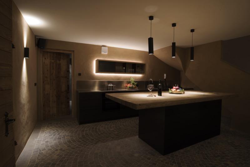 Küche in unserem Keller